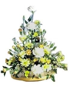 flowers: Mellow Yellow Arrangement!