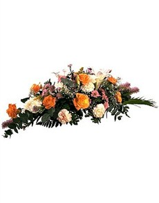 flowers: Funeral Tribute of Flowers!