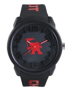 jewellery: Gotcha Black Gents Watch!