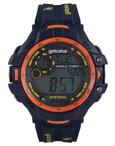 gifts: Gotcha Navy and Orange Gents Watch!