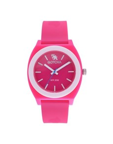 watches: Gotcha Analoque Ladies Pink and White Watch!