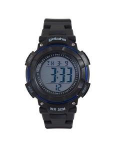 watches: Gotcha Gents Black Digital Watch!