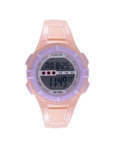watches: Gotcha Ladies  Peach Digital Watch!