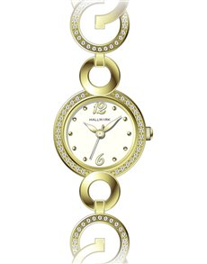 watches: Hallmark Ladies Gold Plated Watch   HA1223C!
