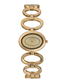 watches: Hallmark Ladies Gold Plated Watch   HA1225C!