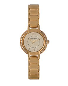 watches: Hallmark Ladies Gold Plated Watch!