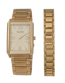 watches: Hallmark Gold Plated Gents Watch!