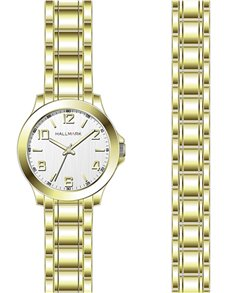 watches: Hallmark Gents Watch With Matching Bracelet!