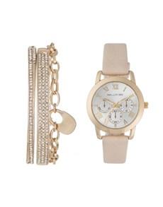 watches: Hallmark Ladies Nude Watch and Bracelet Set!