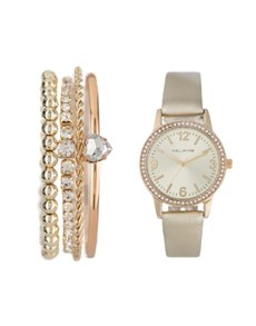 watches: Hallmark Ladies Gold Watch Box Set!