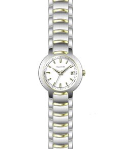 watches: Hallmark Gents Two Tone Stainless Steel Watch!