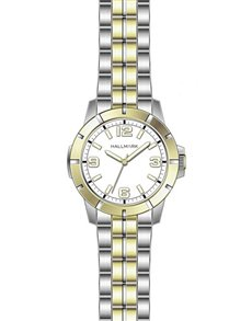 watches: Hallmark Gents Two Tone Watch HD1232S!