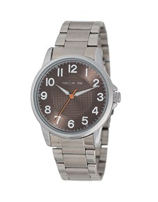 watches: Hallmark Gents Silver and Black Watch!