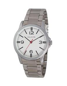 watches: Hallmark Gents Silver and White Watch!