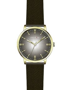 watches: Hallmark Gents Brown and Gold Watch!