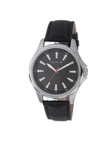 watches: Hallmark Black Dial and Croco Leather Strap!