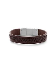 jewellery: Frank Woven Brown Gents Bracelet!