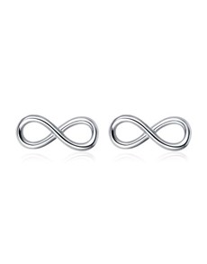 jewellery: Silver Infinity Design Studs!