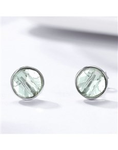jewellery: Silver Cubic Birthstone Studs!
