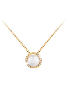 jewellery: 9KT Pearl and Diamond Necklace!