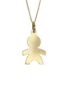 jewellery: 9KT Yellow Gold Child Pendant!