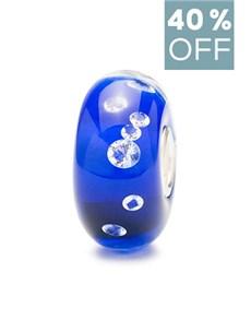 jewellery: Trollbeads The Diamond Bead Blue!