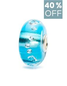 jewellery: Trollbeads The Diamond Bead Iceblue!