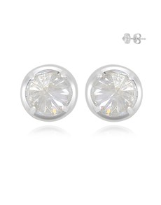 jewellery: Silver Cubic 5mm Tube Studs!