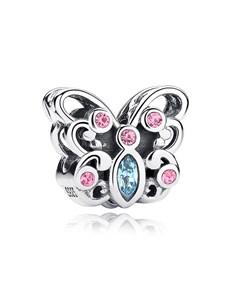 jewellery: Silver 925 Open Butterfly Cubic Charm!