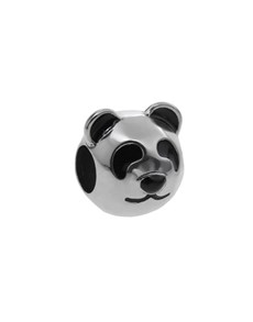 jewellery: Silver 925 Round Panda Bear Face Charm!