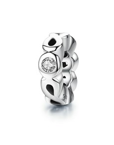 jewellery: Silver 925 Infinity Cubic Spacer Charm!