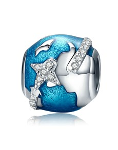 jewellery: Silver 925 Around the World Charm!