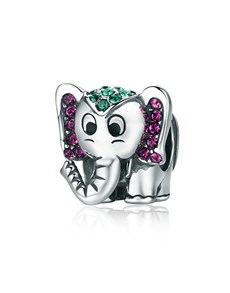 jewellery: Silver Cute Elephant Charm!