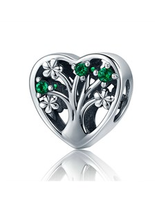 jewellery: Silver Tree Of Life Heart Charm!