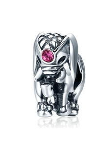 jewellery: Silver Elephant and Cubic Charm!