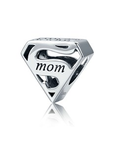 jewellery: Silver Super Mom Charm!