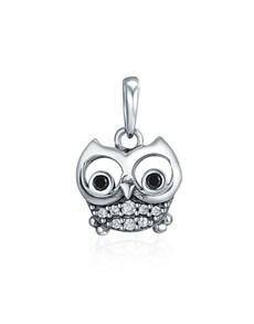 jewellery: Silver Dangle Cute Owl Charm!