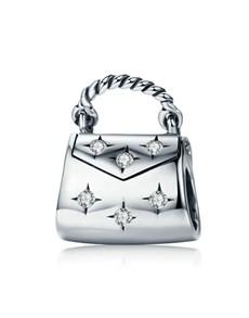 jewellery: Silver and Cubic Handbag Charm!