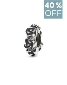 jewellery: Trollbeads Rose Spacer!