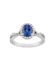 jewellery: 9KT Tanzanite and Diamond ring KA9800!