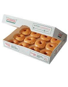 bakery: 12 Krispy Kreme Original Glazed Doughnuts!
