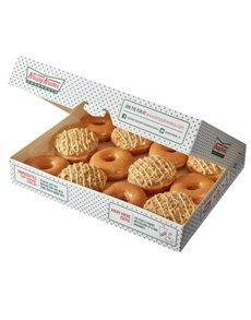 bakery: Krispy Kreme Original and NY Cheesecake Combo!