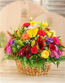 Flowers: Country Basket!