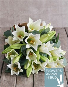 flowers: Fragrant Lily Bouquet!