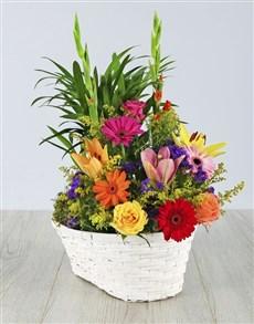 plants: Floral Delight Basket!