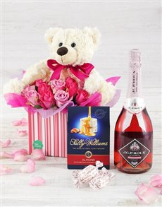 flowers: Mad About Mom Hamper!