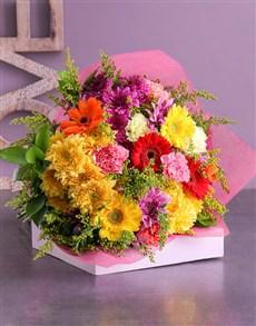 flowers: Marvellous Mixed Flower Bouquet!