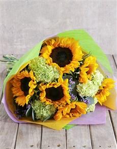 flowers: Sunflower Magic Bouquet!
