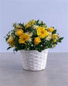 flowers: Sunkissed Basket!
