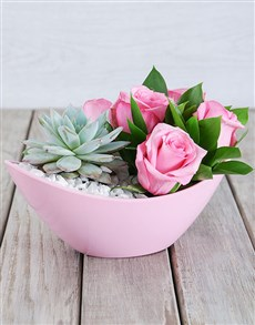 flowers: Heavenly Boat Arrangement!